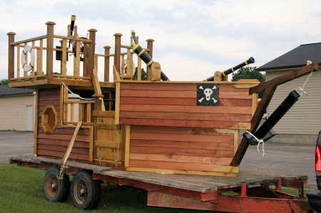 PIRATE SHIP PLAYHOUSE PLANS - homeinfurniture.com - Interior